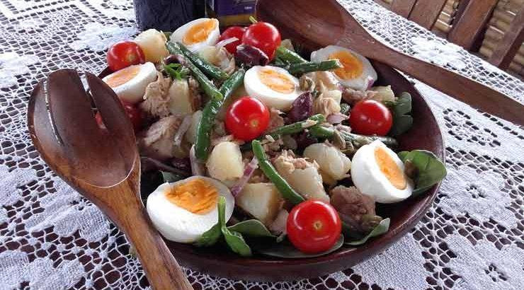 Franse Tonijnsalade